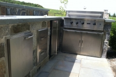 Outdoor Kitchen Before